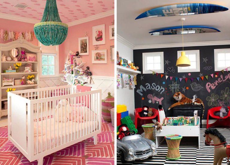 10 интерьеров детских комнат у звезд