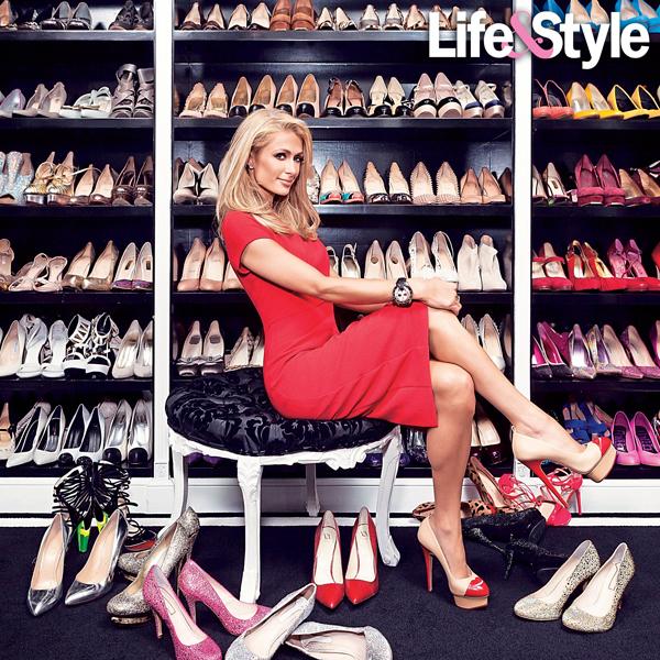 8 звезд с внушительным количеством обуви