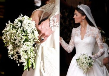 7 свадебных букетов знаменитостей и их значение
