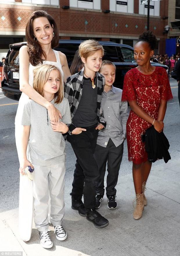 Анджелина Джоли пояснила причины развода с Питтом