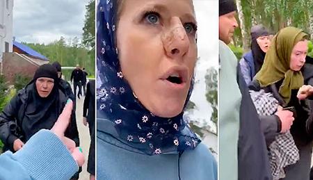 Ксения Собчак поделилась подробностями о случае в обители