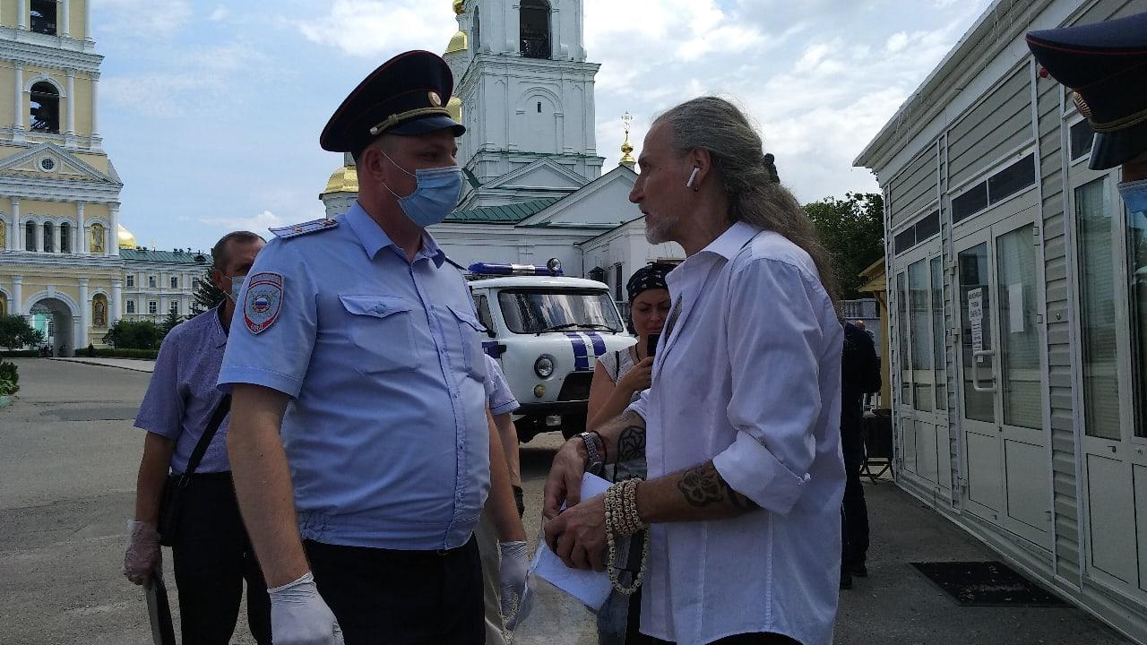 Никита Джигурда побывал в Дивеево вслед за Анастасией Волочковой
