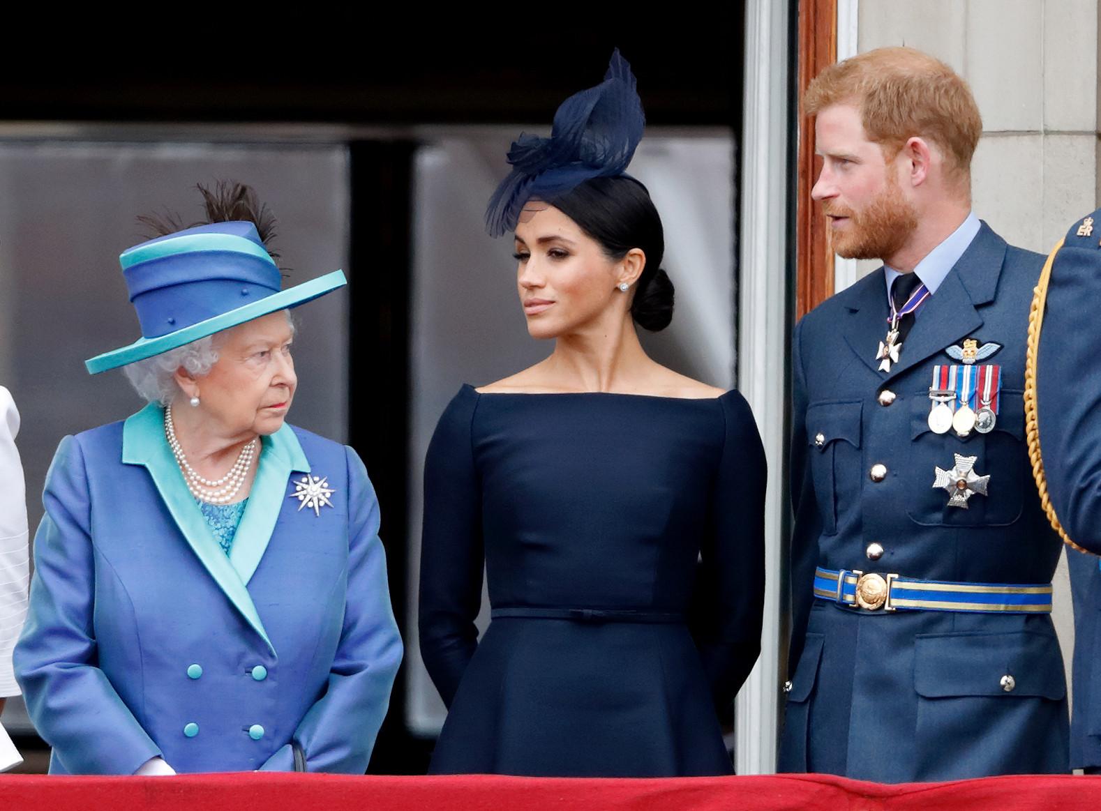 Меган Маркл обвинила королеву Елизавету в своем нервном срыве
