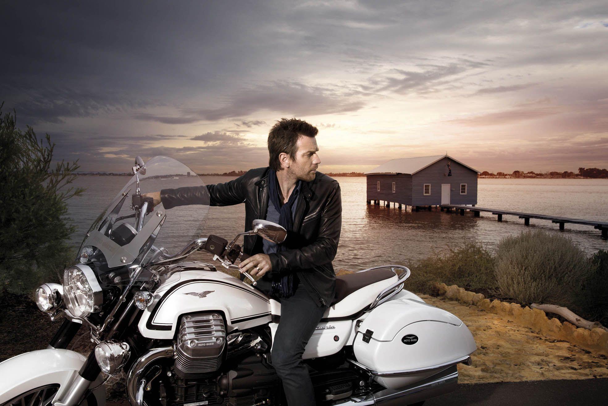 5 знаменитостей, которые любят ездить на мотоциклах