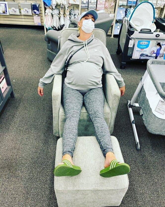 Кэти Перри перехаживает беременность