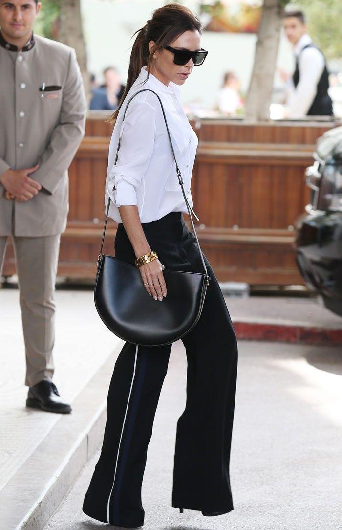 9 красивых выходов знаменитостей в широких брюках