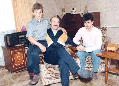 Жена Александра Лукашенко