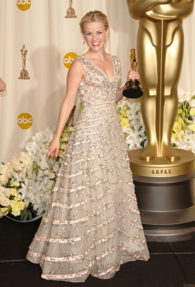 5 актрис в культовых винтажных платьях на «Оскаре»