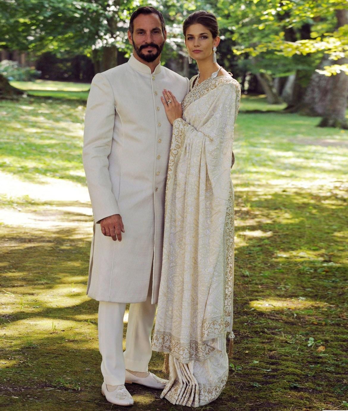 6 свадебных платьев восточных принцесс