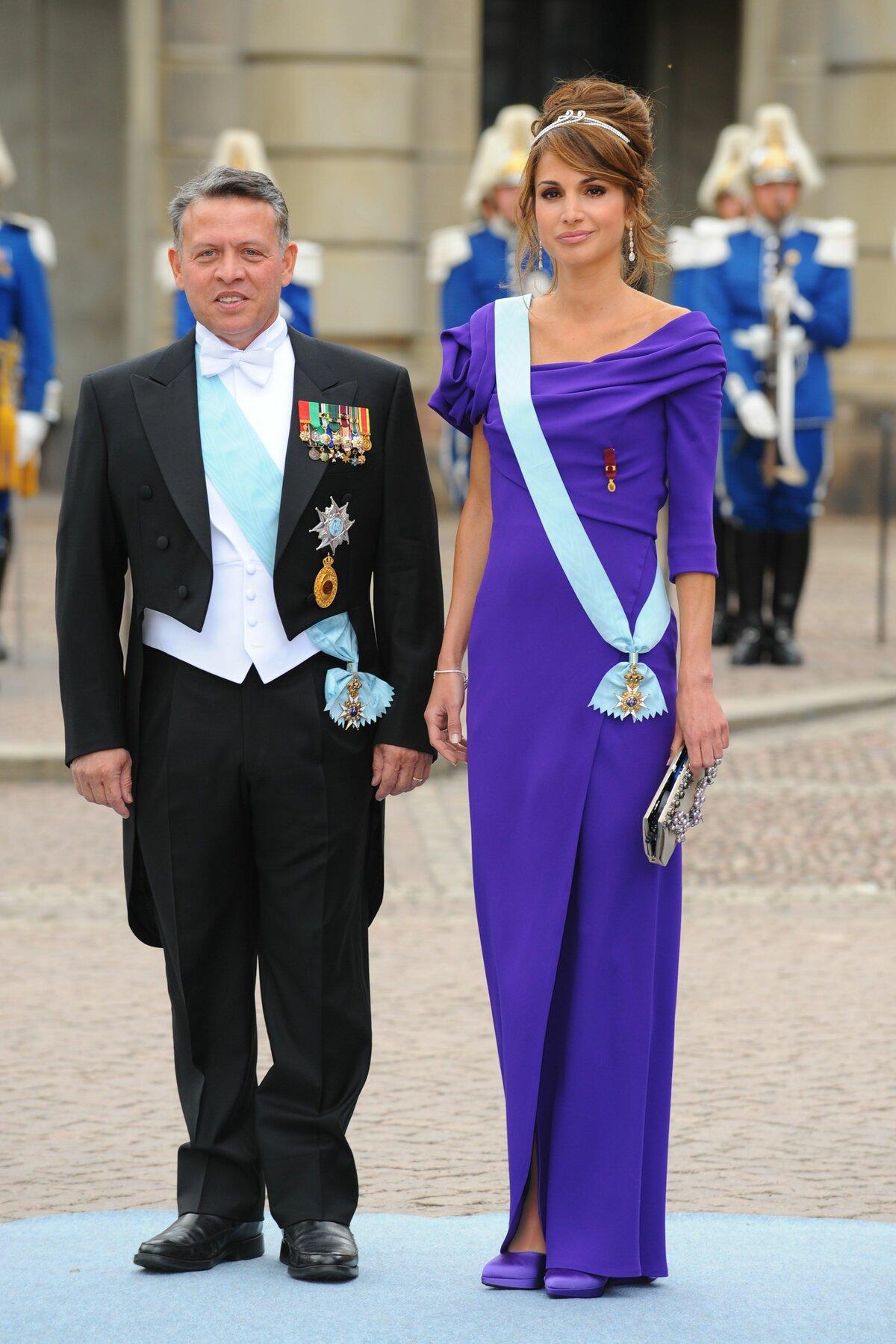 Королева Иордании отметила юбилей