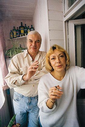 Жена Владимира Молчанова