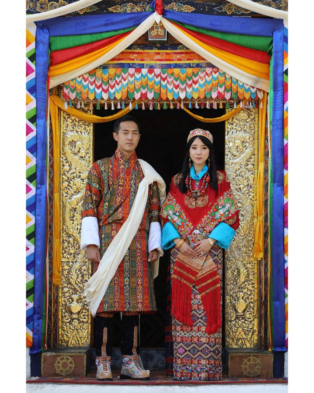 Принцесса Бутана вышла замуж за летчика