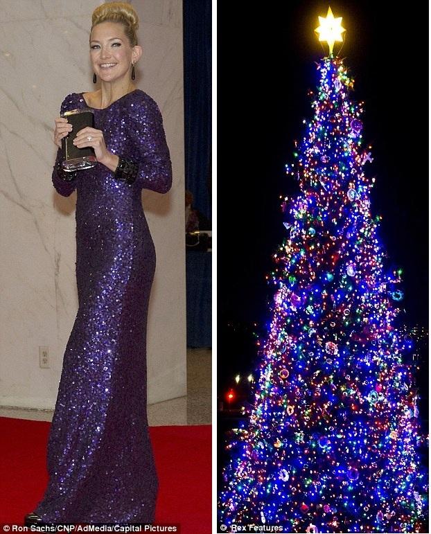 9 фото знаменитостей в новогодних нарядах в разные годы