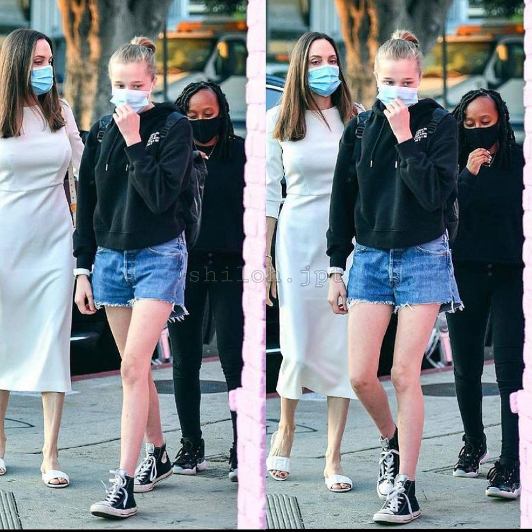 Дочь Анджелины Джоли не хочет менять пол