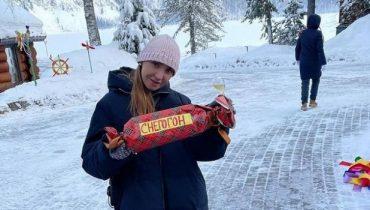 Татьяна Навка решила отдохнуть на Алтае