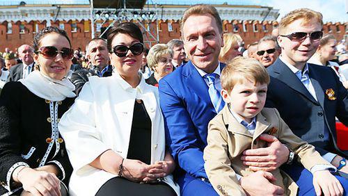 Жена Игоря Шувалова
