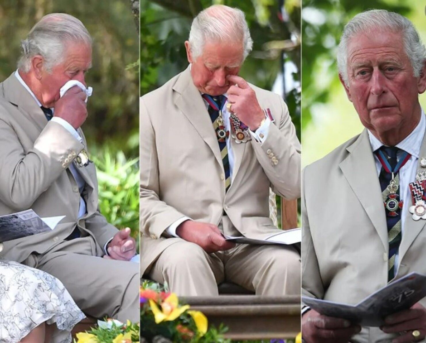 7 монарших особ, не сдержавших слезы на публике
