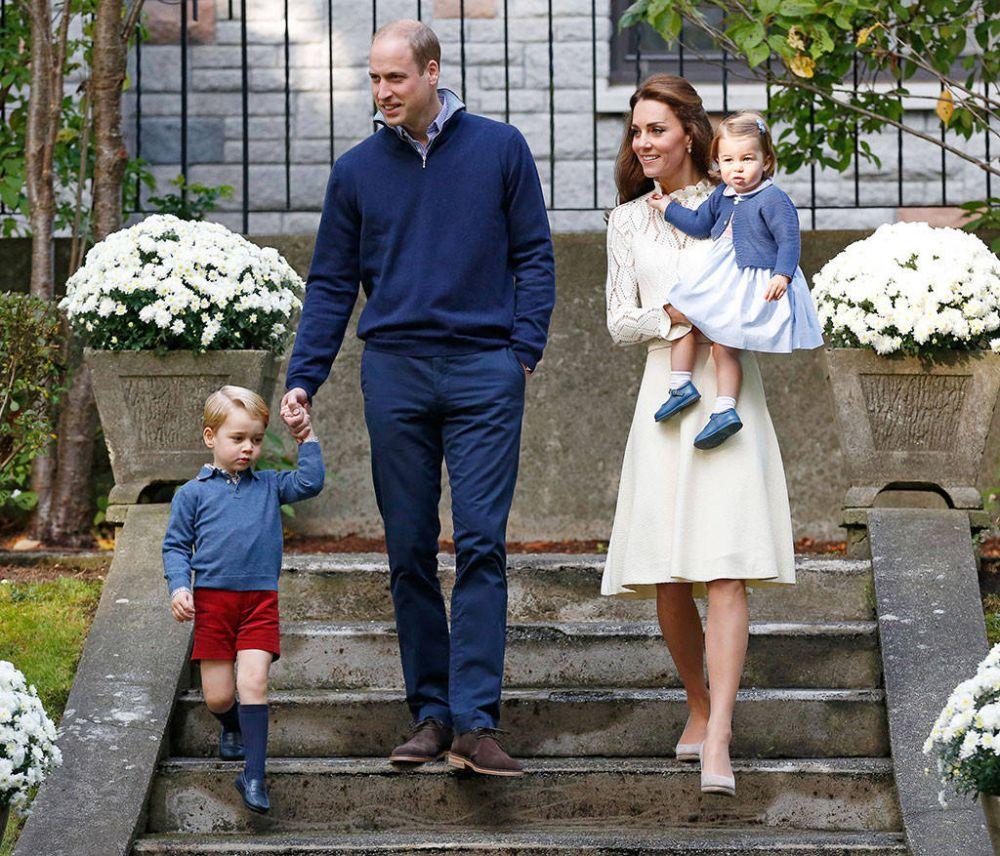 Дети королевской пары