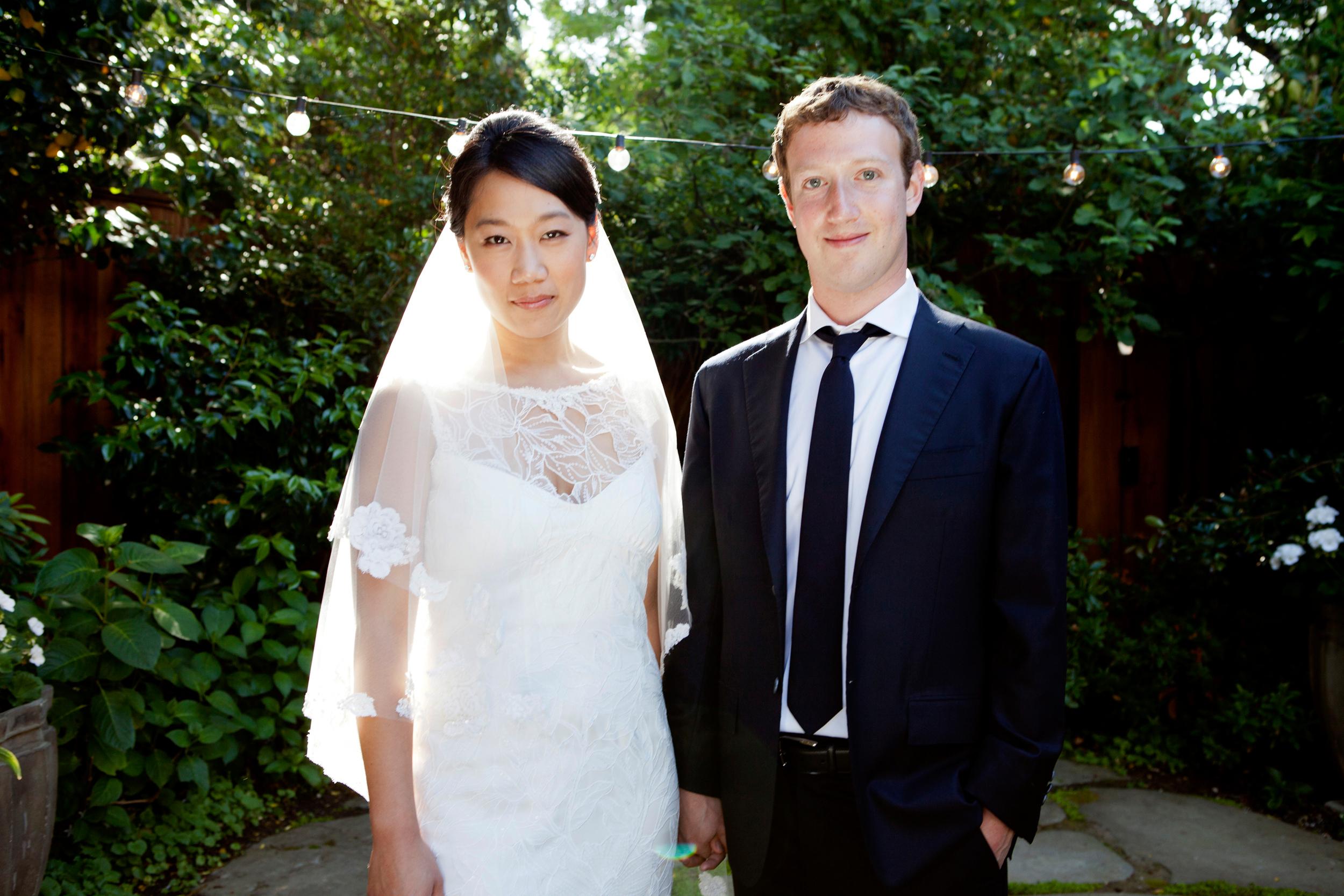 Марк Цукерберг и Присцила Чан