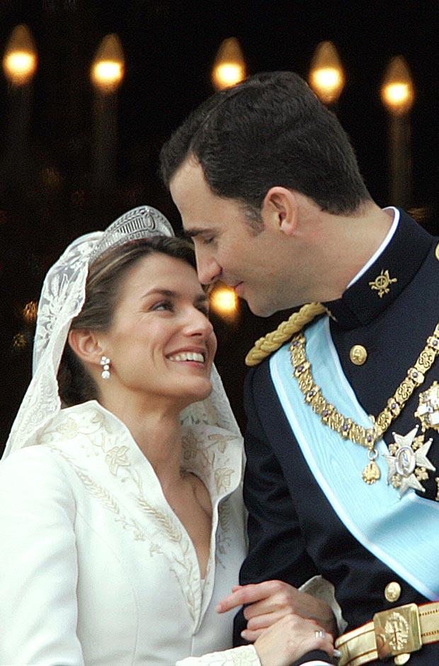 Король Испании Филипп и королева Летисия