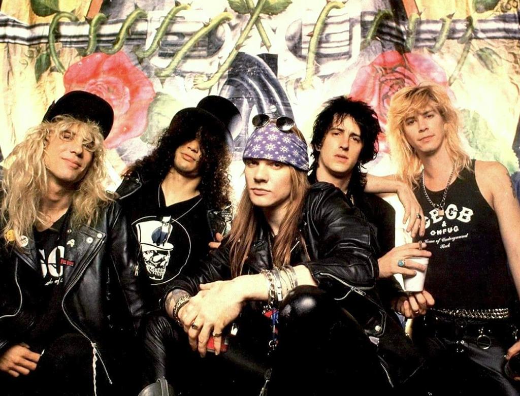 Группа «Guns and Roses»