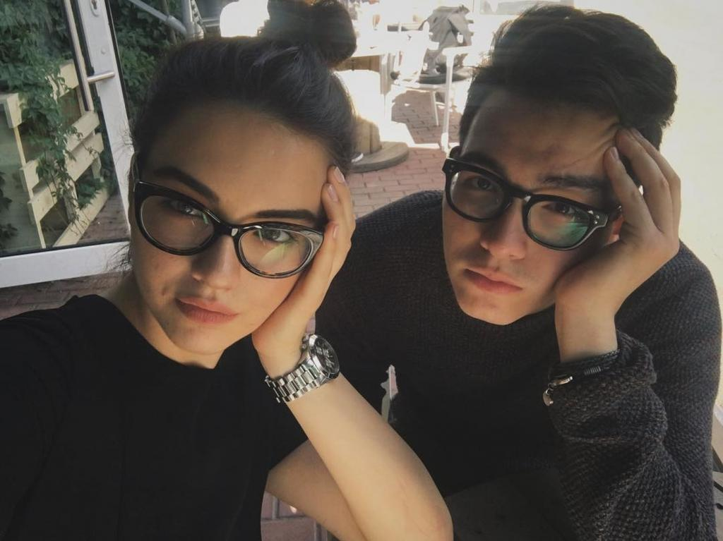 Лия и Аким (дети Мурата Насырова)